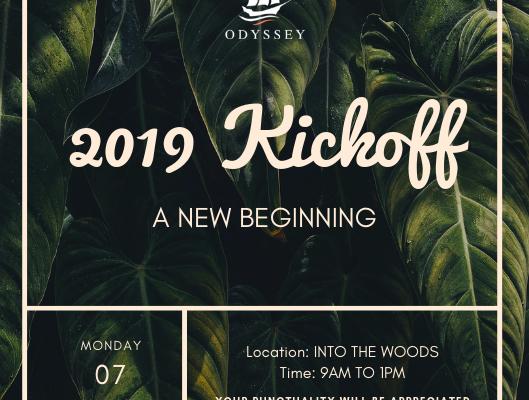 2019 Kickoff
